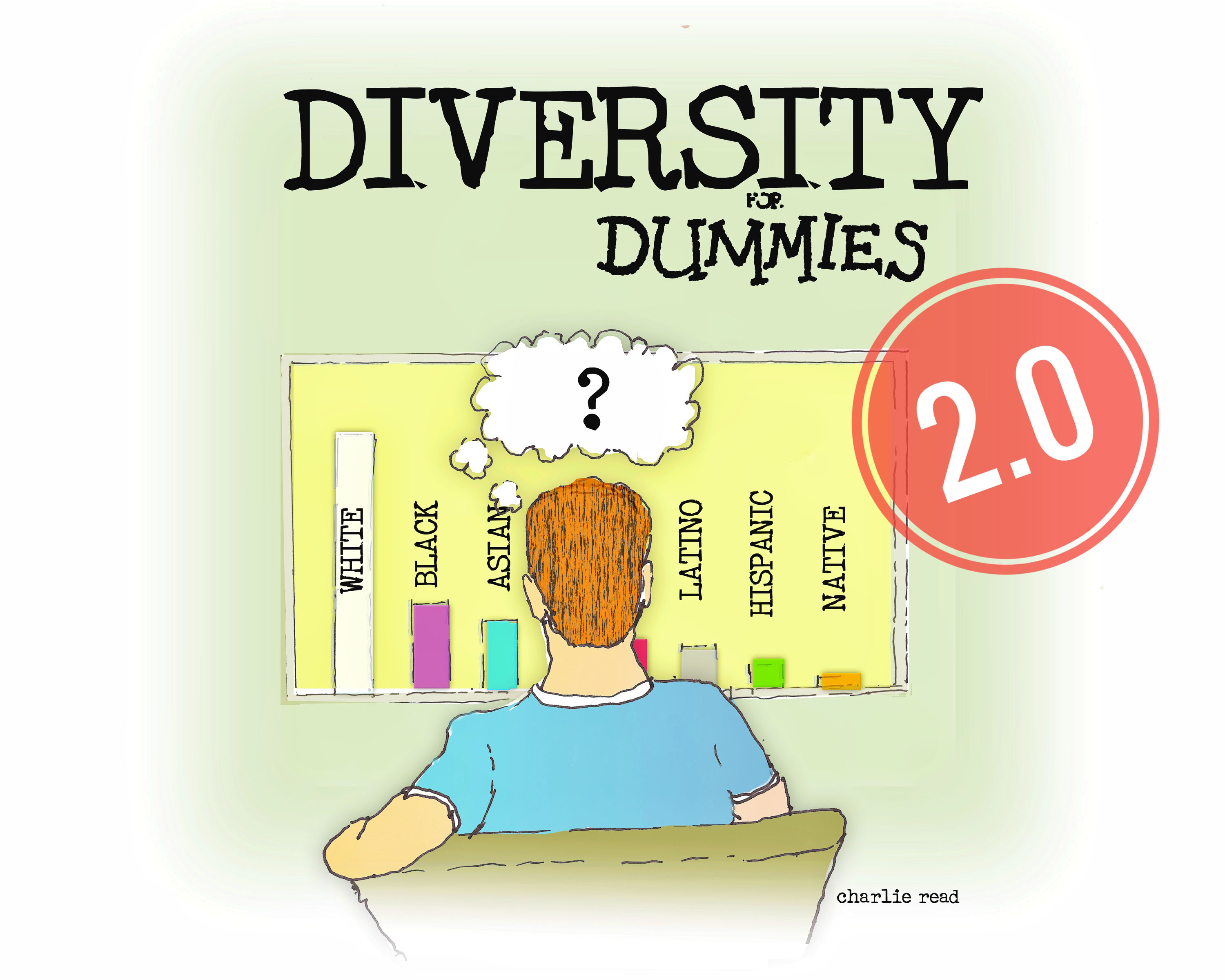 illustration that says Diversity for Dummies
