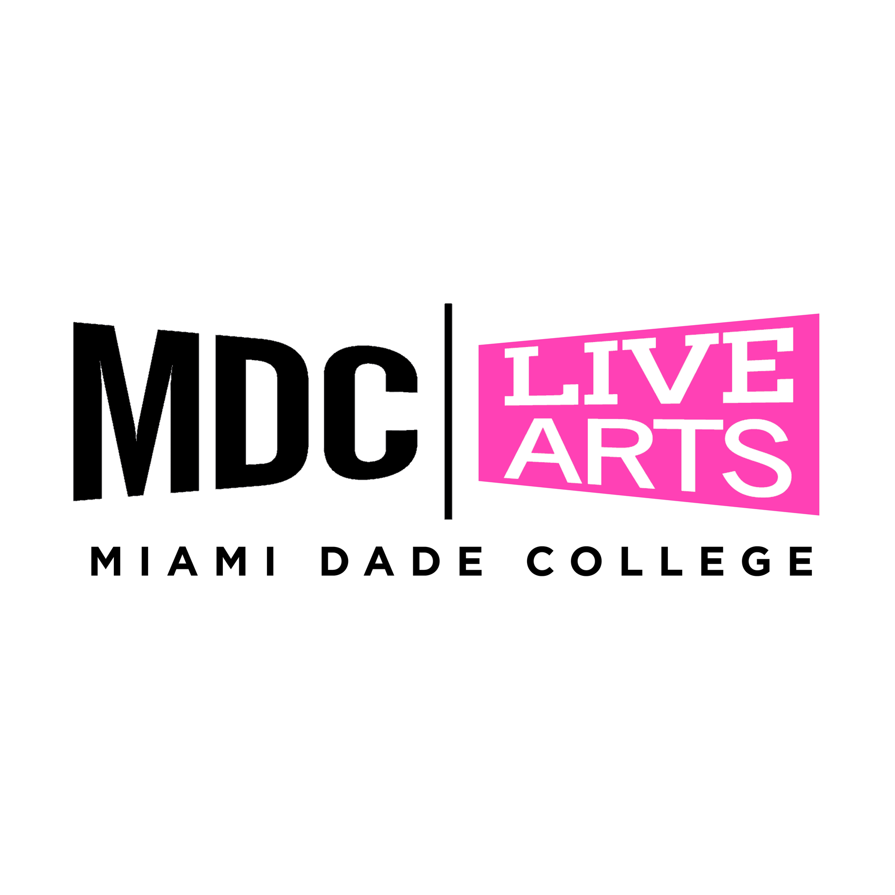 Miami Dade College Live Arts Logo