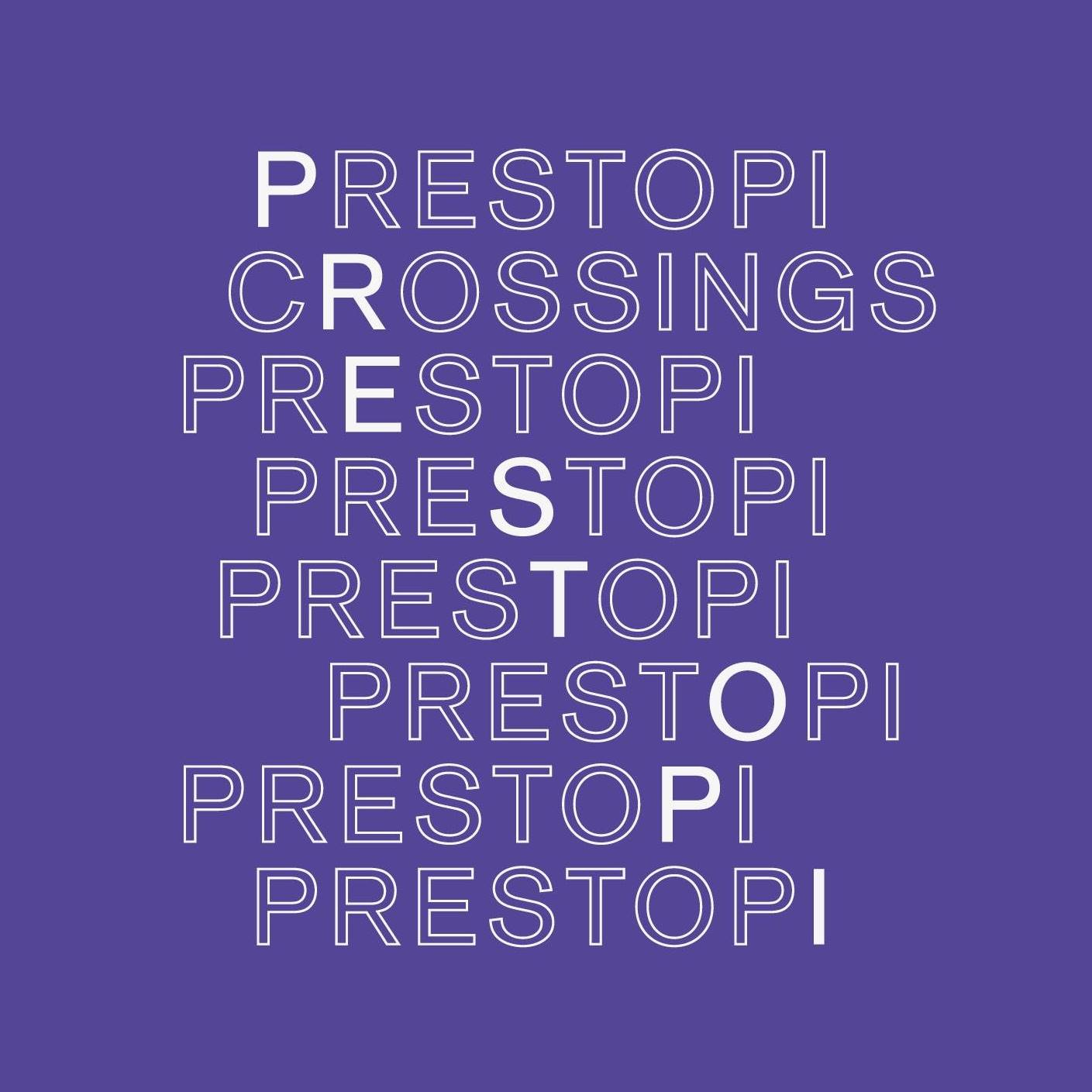 prestopi crossings festival logo