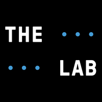 the lab black and white logo