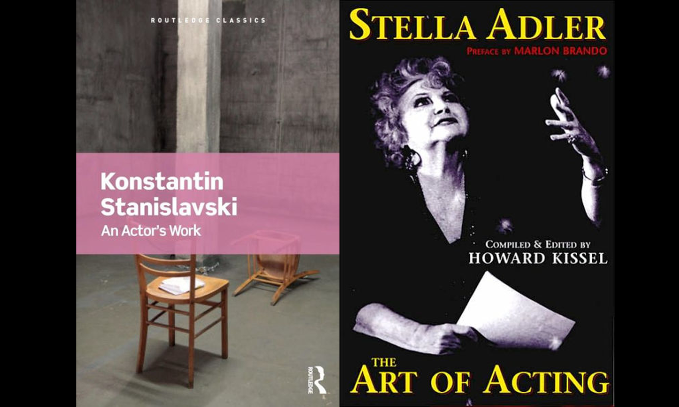 two acting books