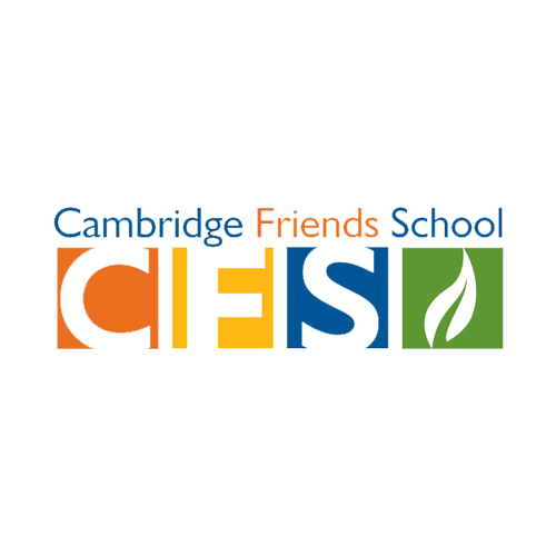 multicolored logo with initials CFS and green leaf