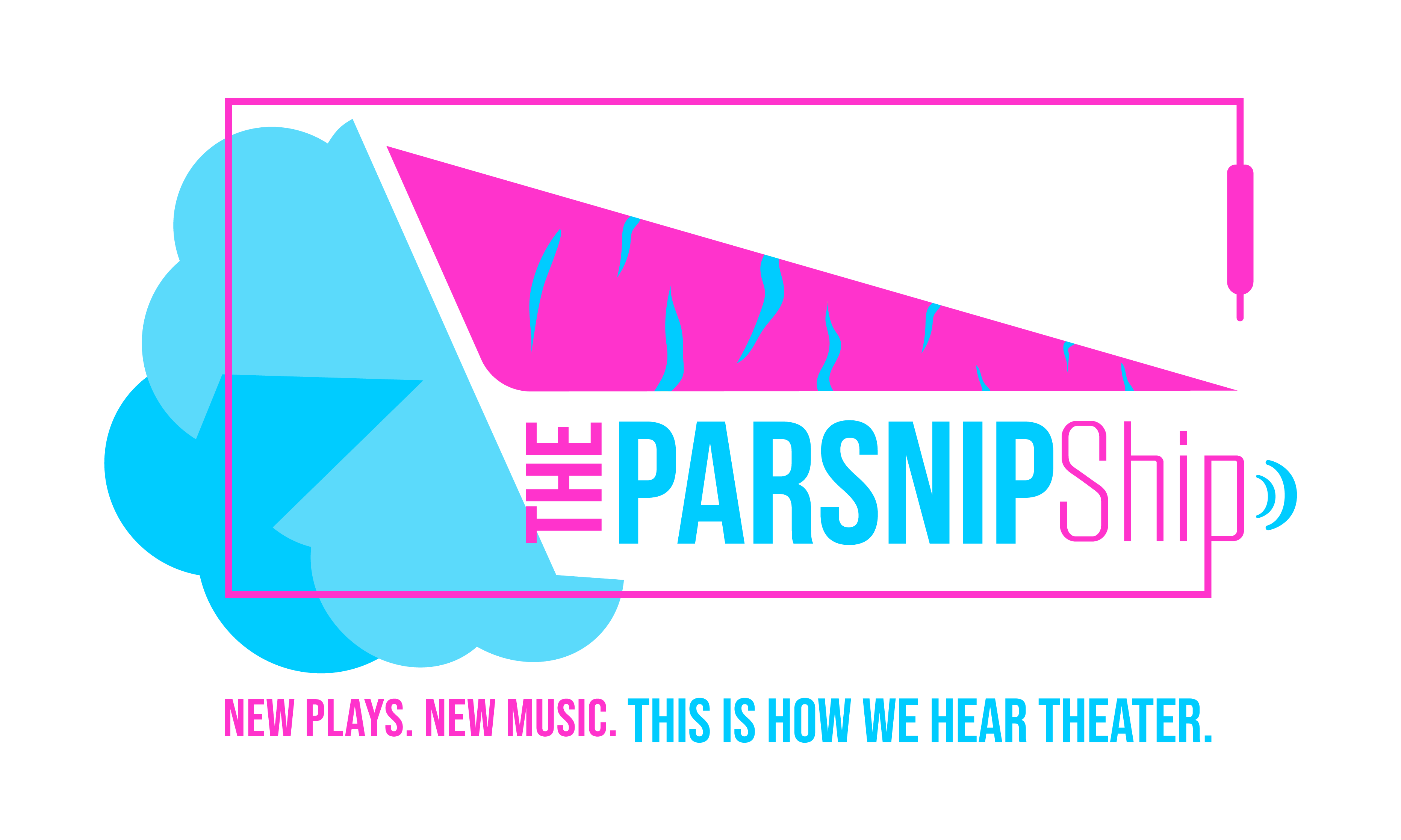 logo for the parsnip ship podcast