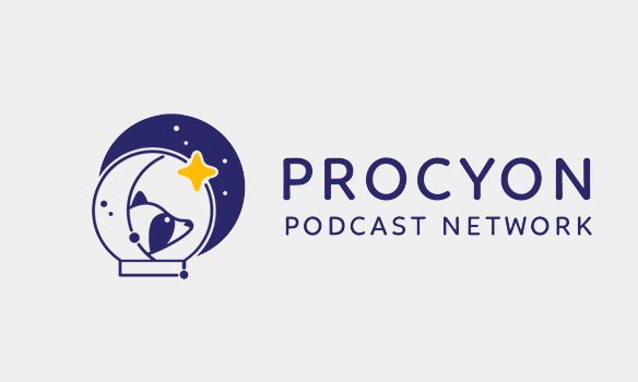logo for procyon podcast network