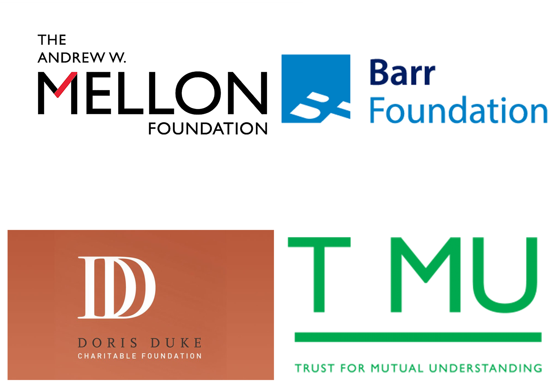 four foundation logos
