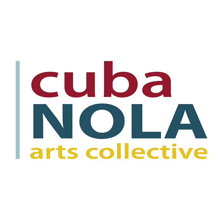 CubaNOLA Arts Collective logo.