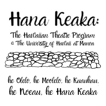 text Hana Keaka @ the university of hawaii at manoa