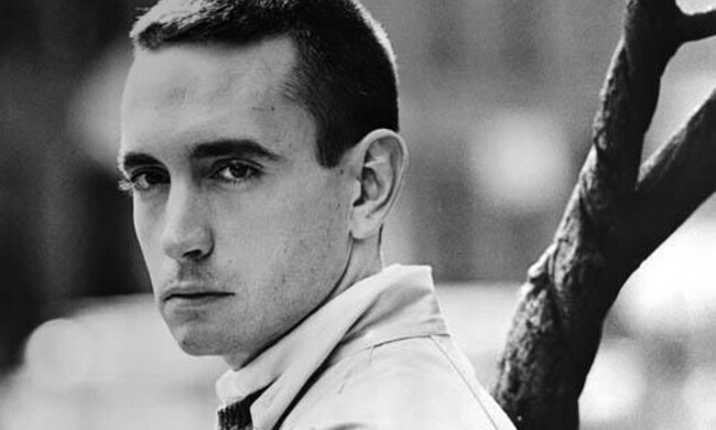 Edward Albee headshot.