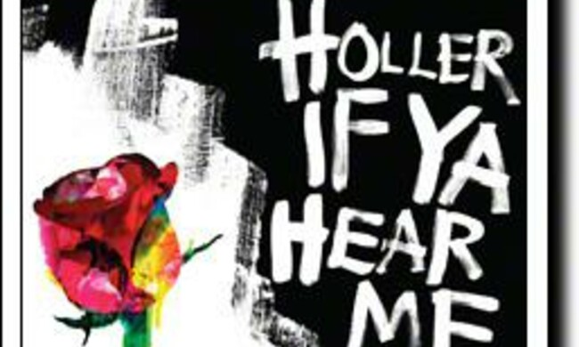 "Playbill cover for the musical ""Holler If Ya Hear Me"""
