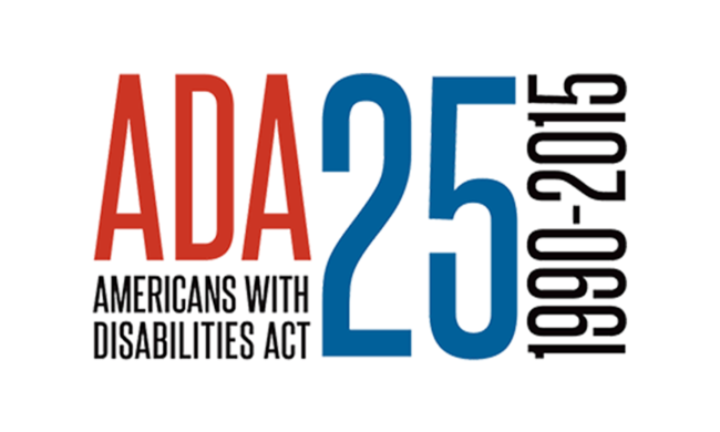 Americans With Disabilities Act Logo.
