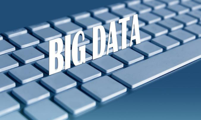 Graphic that says Big Data.