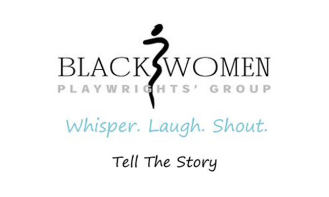 A logo for the Black Women Playwrights' Group.