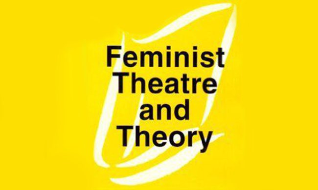 Cover for Feminist Theatre and History.
