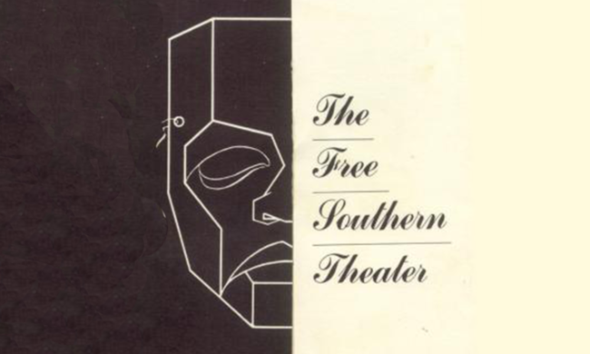 Poster for Free Southern Theatre.