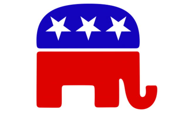 The Republican elephant.