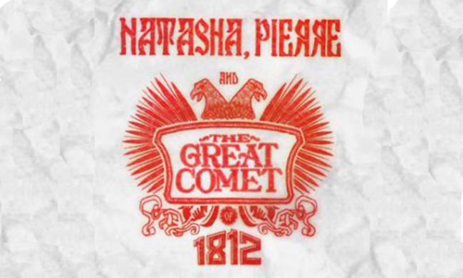 Logo for Natasha Pierre and the Great Comet of 1812.