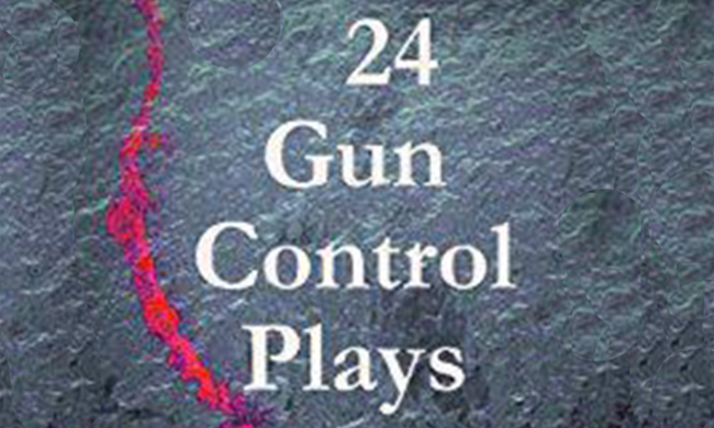 Cover for a collection of 24 Gun Control Plays.