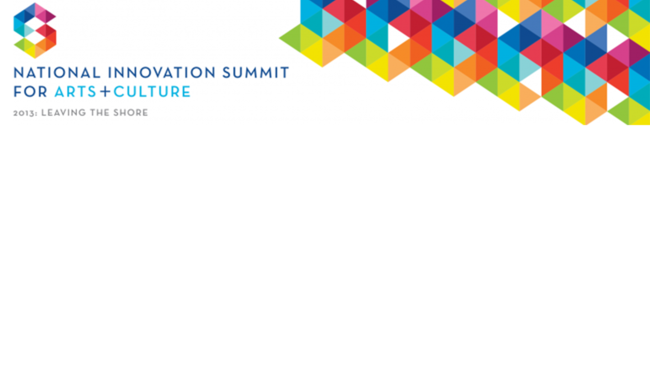 National Innovation Summit banner.