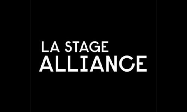 Logo for LA Stage Alliance.
