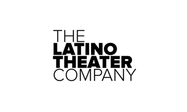 Logo for the Latino Theater Company.