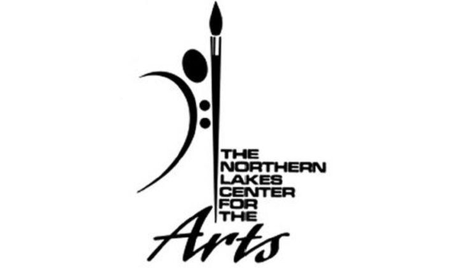 Logo for the Northern Lakes Center for the Arts.