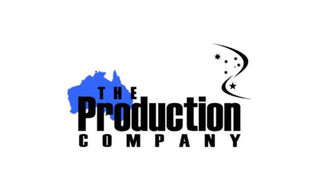 Logo for The Production Company.