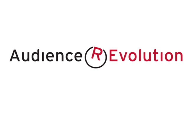 Logo for Audience Revolution.