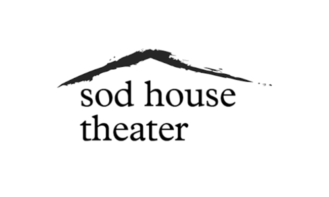 Logo for Sod House Theatre.