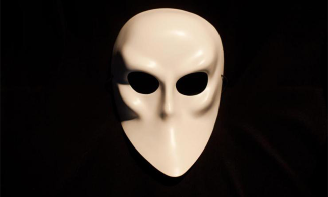 A mask from Sleep No More.