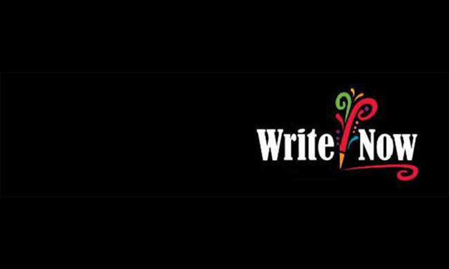 Write Now logo.