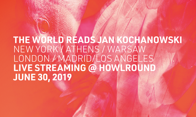 The World Reads Jan Kochanowski poster