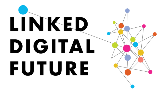 Linked Digitial Future event logo