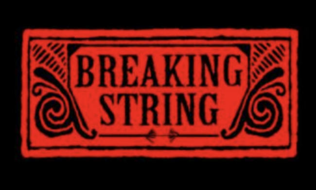 breaking string logo
