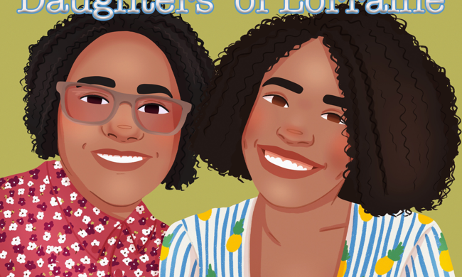 daughters of lorraine podcast logo