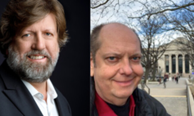 Oskar Eustis and Tony Torn.