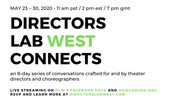 Directors Lab West Connects event information.