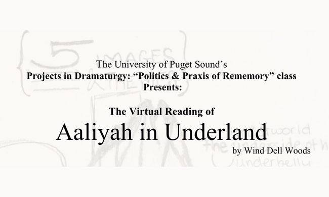Aaliyah in Underland promotion.