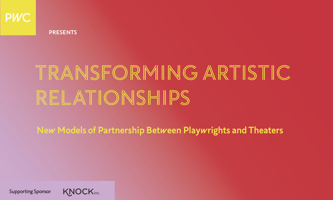 Text: transforming artistic relationships