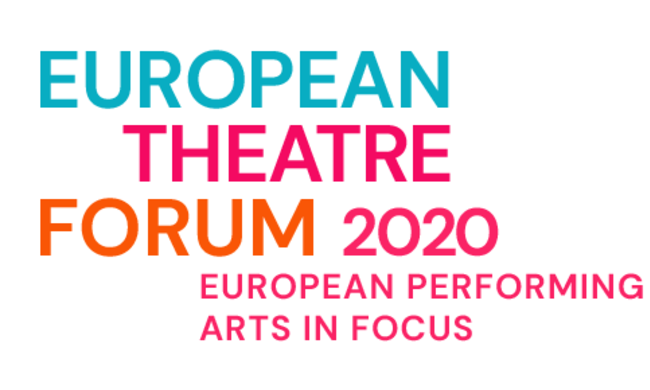 european theatre forum 2020 event graphic.