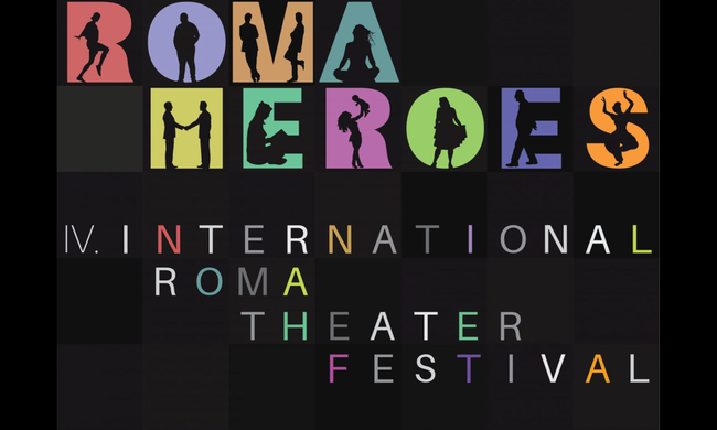 Roma Heroes Festival poster.