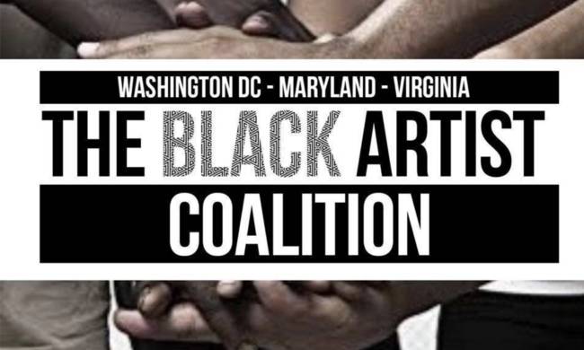 The Black Artist Coalition logo