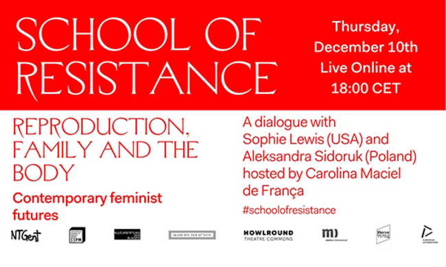 event poster for school of resistance, episode eleven.