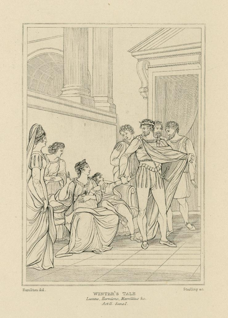 illustration of pregnant woman surrounded by people