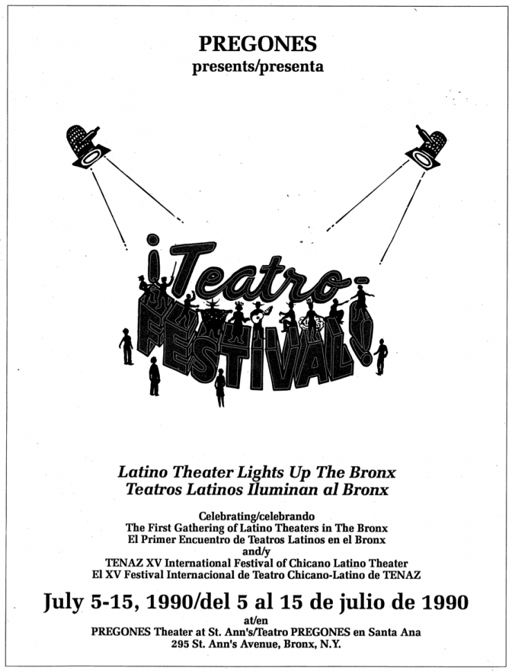 A theatrical poster