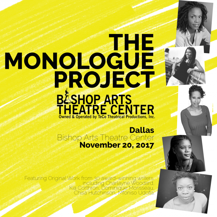 monologue project poster