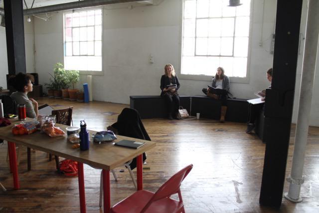 a rehearsal room