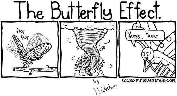 The butterfly effect comic