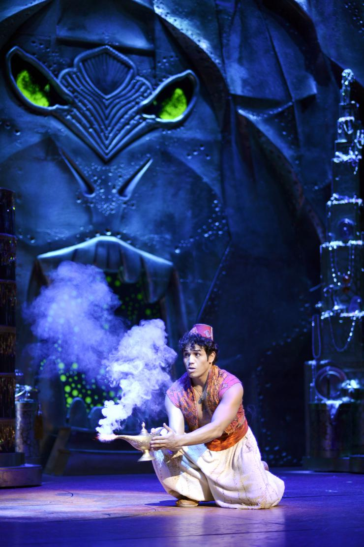 Aladdin, Broadway, Disney, Theatre, Theater, 2014, Musical,