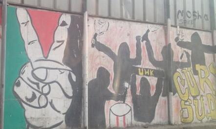 photo of political mural street art