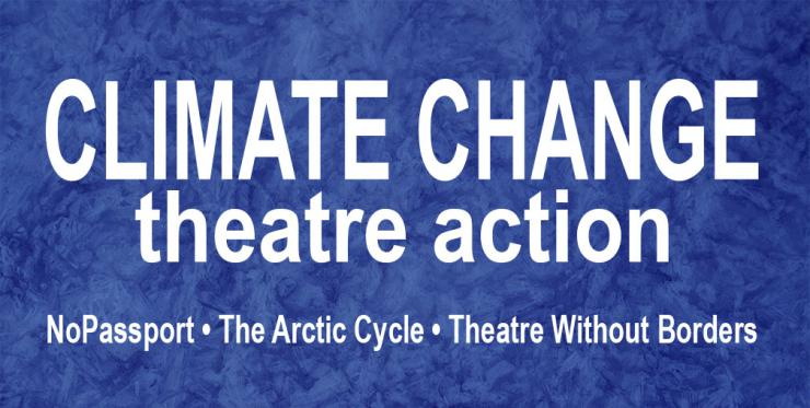 Climate Change theatere action logo